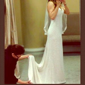 Pnina Tornai Wedding Dress size 4